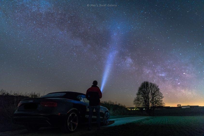 Sterne über Eglofsdorf